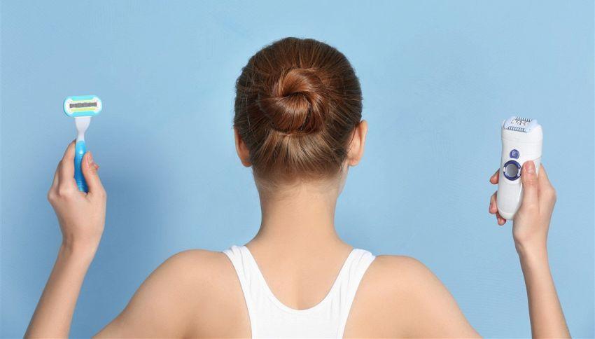 Depilazione col rasoio, il falso mito da sfatare