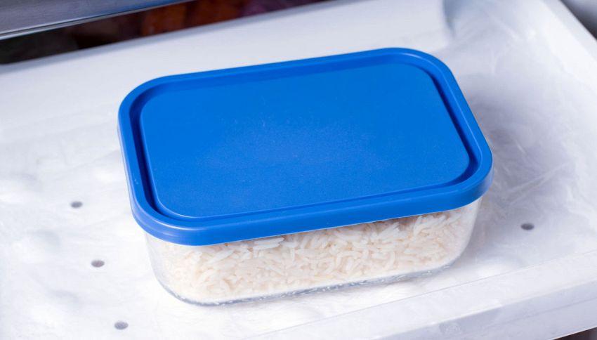Il riso si può congelare? Solo se è così