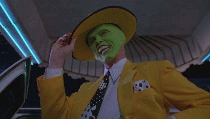 The Mask, la rivelazione di Netflix sulla battuta di Jim Carrey