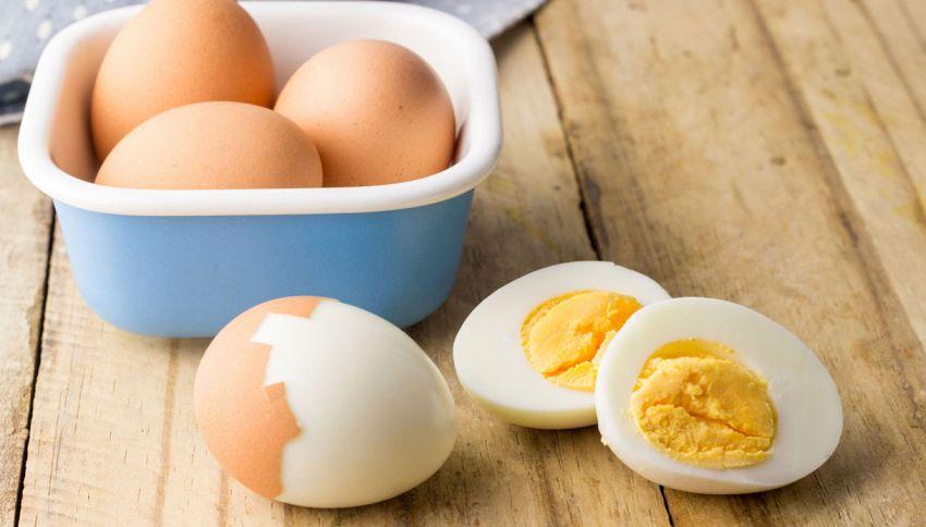 Uovo sodo perfetto: il ghiaccio è il segreto