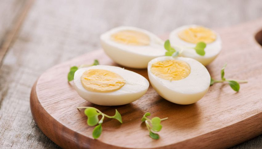 Il calcolo perfetto per cuocere le uova sode