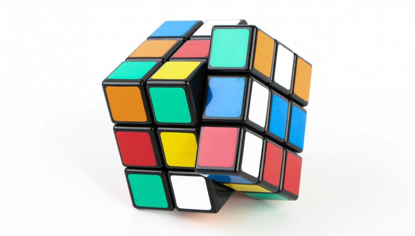 Sembra un normale cubo di Rubik, l'effetto ottico ti sorprenderà