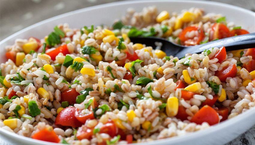 Insalata di riso, è sbagliato aggiungere la maionese?