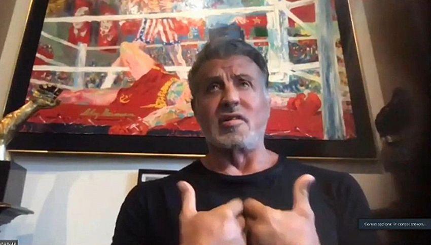 """Sylvester Stallone ricorda 'Rocky': """"Fu un miracolo"""""""