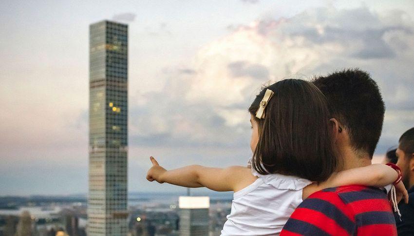 L'appartamento dei sogni? E' nel grattacielo più alto di New York