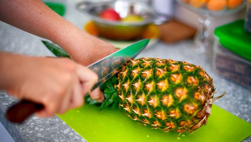 Come mangiare l'ananas, il modo alternativo che non ti immagini