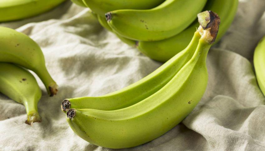 Banane troppo verdi? Usa il forno per farle maturare velocemente