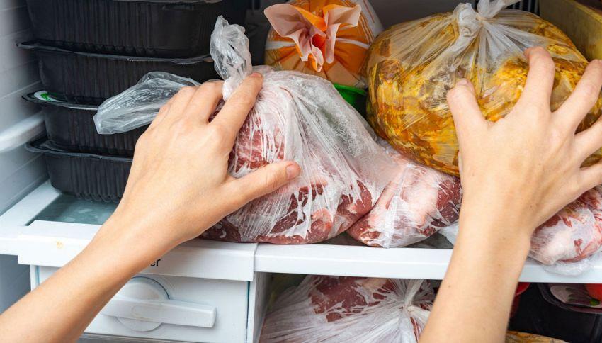 Il trucco per congelare al meglio la carne