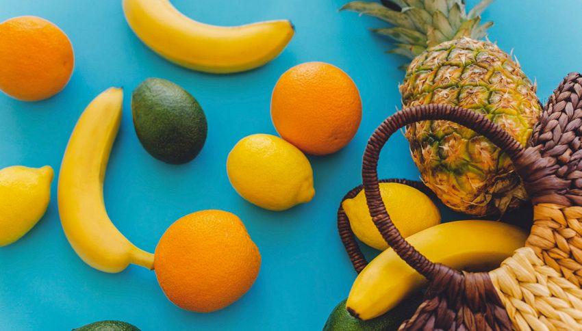 Ananas o banana: lo sai quale contiene meno zucchero?