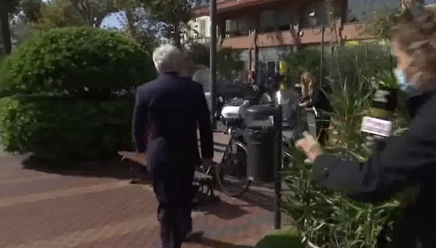 Sindaco di Ventimiglia derubato in diretta tv