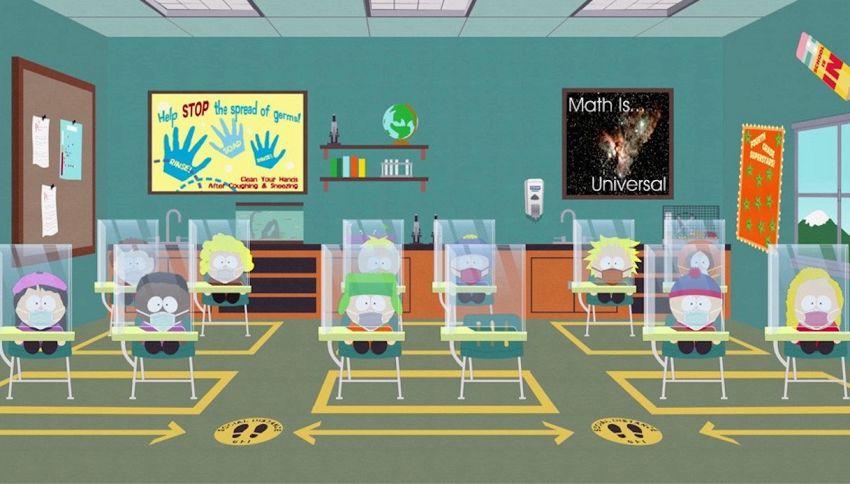 'South Park' in versione pandemia: dove vedere la puntata in tv