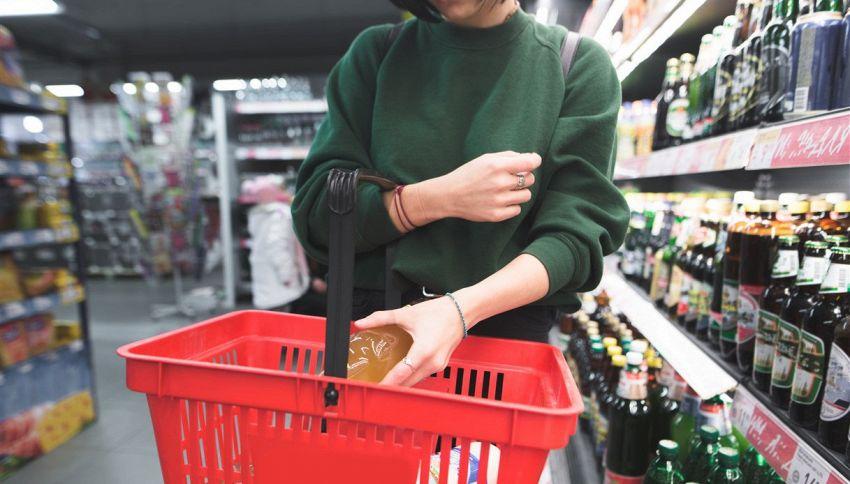 Non usare il cestino al supermercato se ci tieni alla tua linea