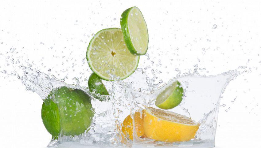 La differenza tra limoni e lime? Lanciali in acqua per scoprirlo