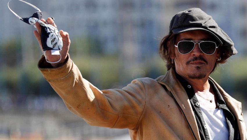 Johnny Depp ricorda il suo Jack Sparrow: le parole dell'attore