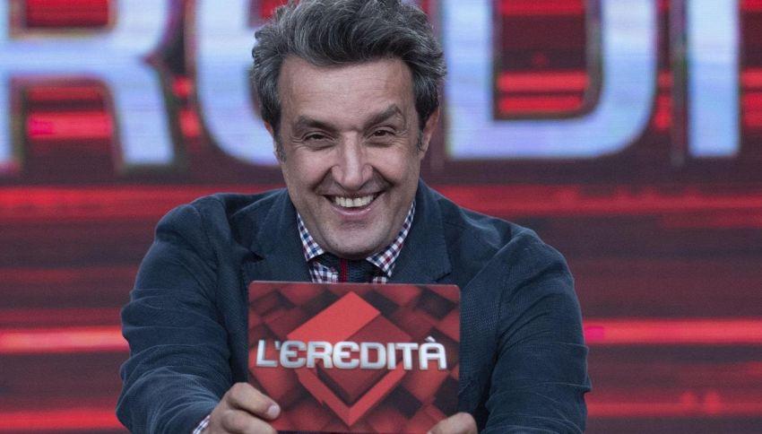 'L'Eredità': per il campione Francesco oltre 50mila euro