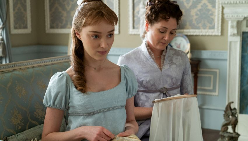 'Bridgerton', polemiche per una scena della serie Netflix