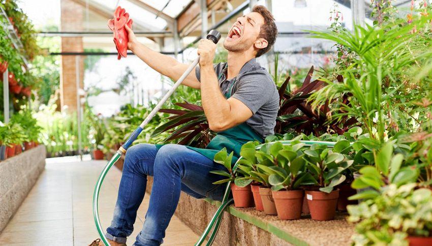 Le piante amano la musica #lodicelascienza