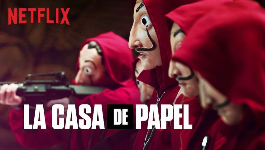 'La Casa di Carta 4' è la serie più vista su Netflix nel 2020