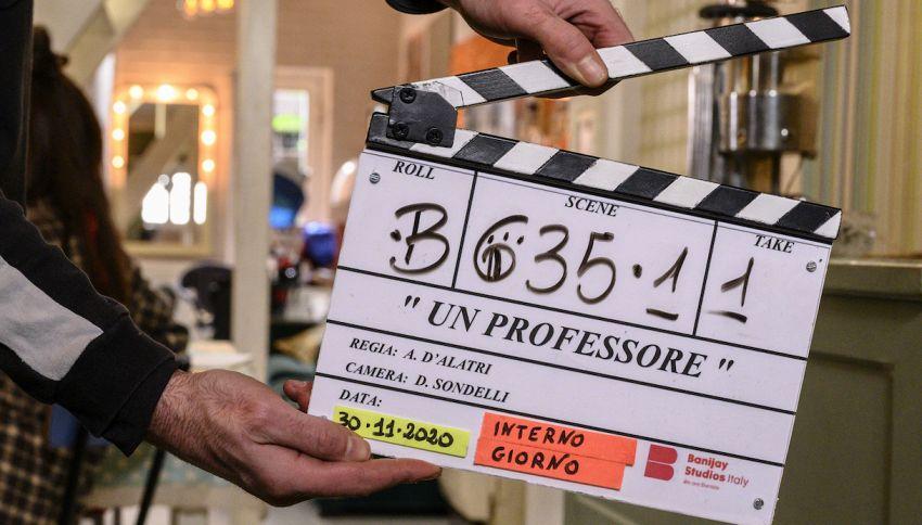 Al via le riprese di 'Un Professore', la nuova serie di Rai1
