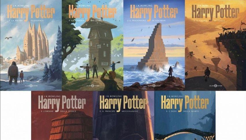 'Harry Potter' si rifà il look: le nuove copertine di De Lucchi