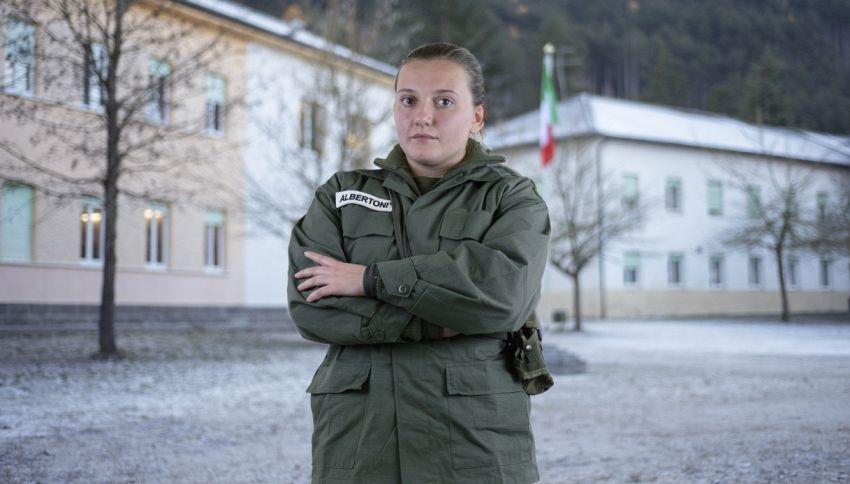 'La Caserma': chi è la recluta Martina Albertoni