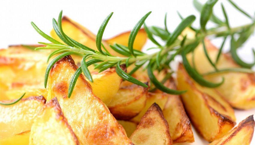 Questi sono gli oli da usare per arrostire le patate