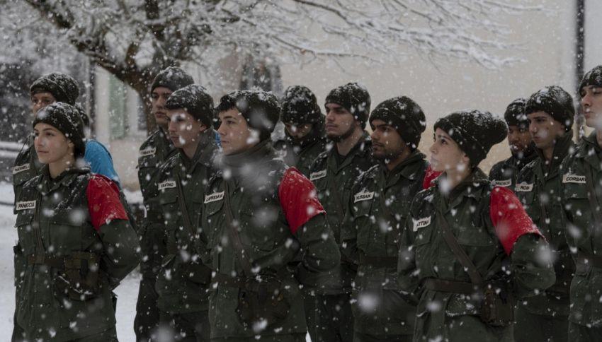 'La Caserma', anticipazioni della quinta puntata (sotto la neve)