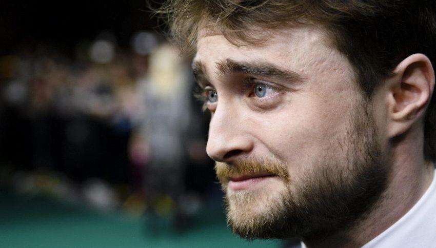 """Daniel Radcliffe e la recitazione """"imbarazzante"""" in Harry Potter"""