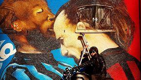 Lo scontro tra Lukaku e Ibrahimović diventa un murale a San Siro
