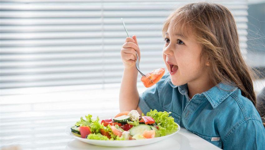 Il trucco per far mangiare verdure ai bambini