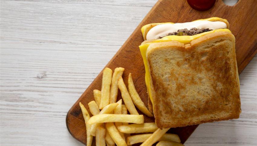 È questo il panino più bizzarro al mondo?