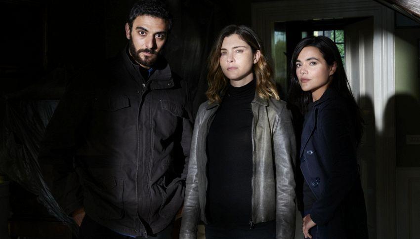 Vittoria Puccini è 'La fuggitiva' nel nuovo action-thriller Rai