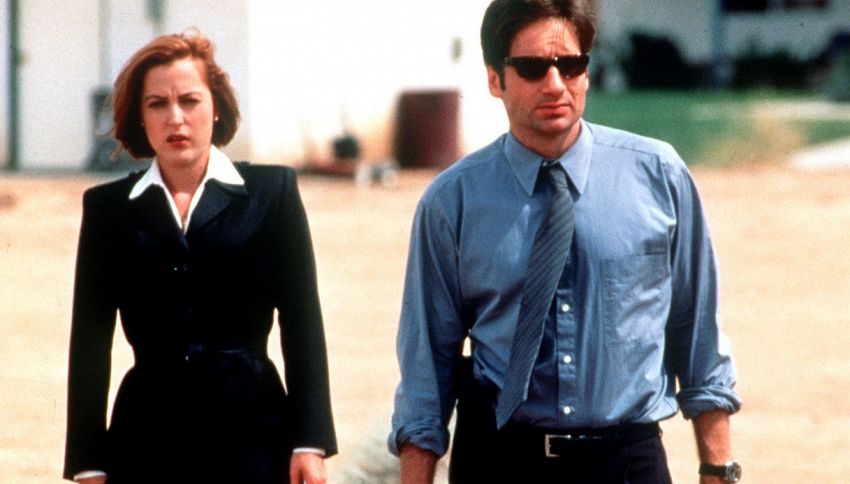X-Files: la (tenera) reunion di David Duchovny e Gillian Anderson