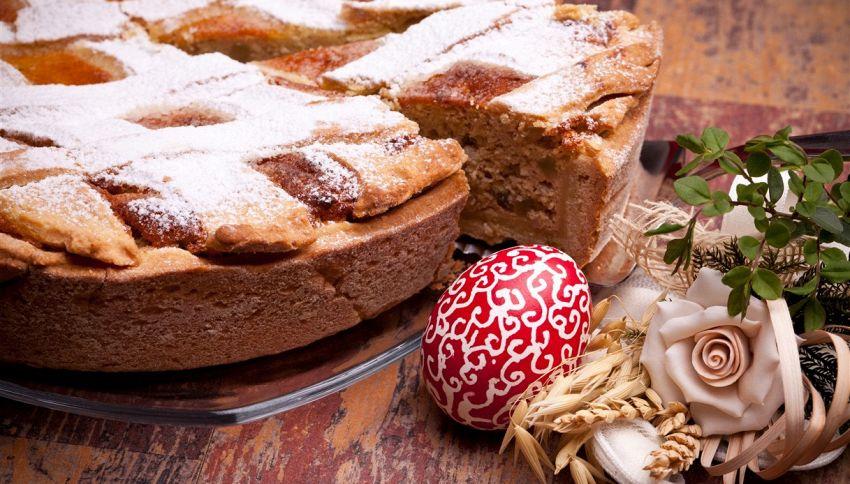 Pastiera napoletana fatta in casa: fai attenzione al forno