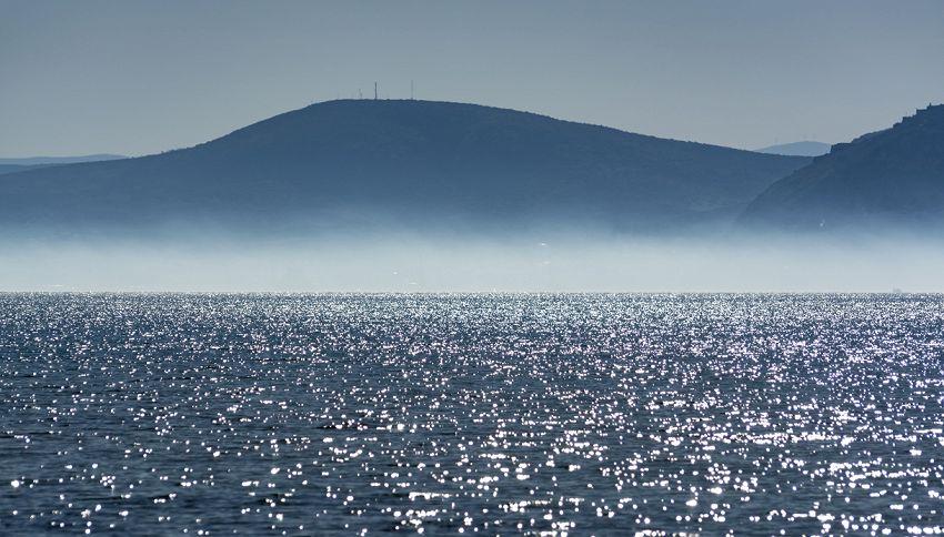 Lupa di Mare, il fenomeno atmosferico visibile sul Mar Ionio