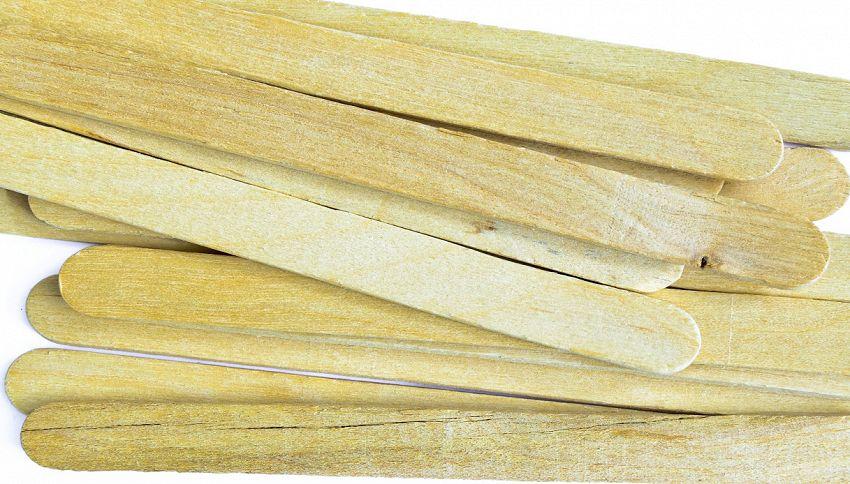A 12 anni costruisce una struttura di stecche di legno da record