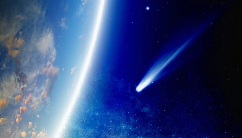 È stata scoperta la cometa più grande di sempre