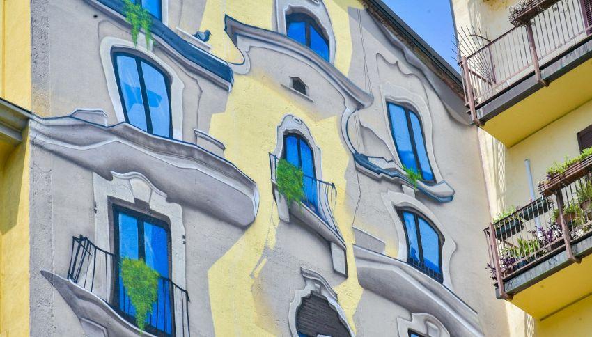 Il nuovo murale di Cheone a Milano è ispirato a Gaudí