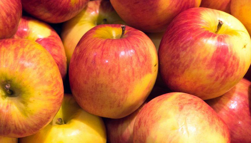 A cosa servono gli sticker sulle mele: la spiegazione su TikTok