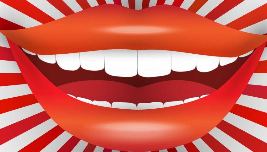 La bocca di questa donna è da record (ed è virale su TikTok)
