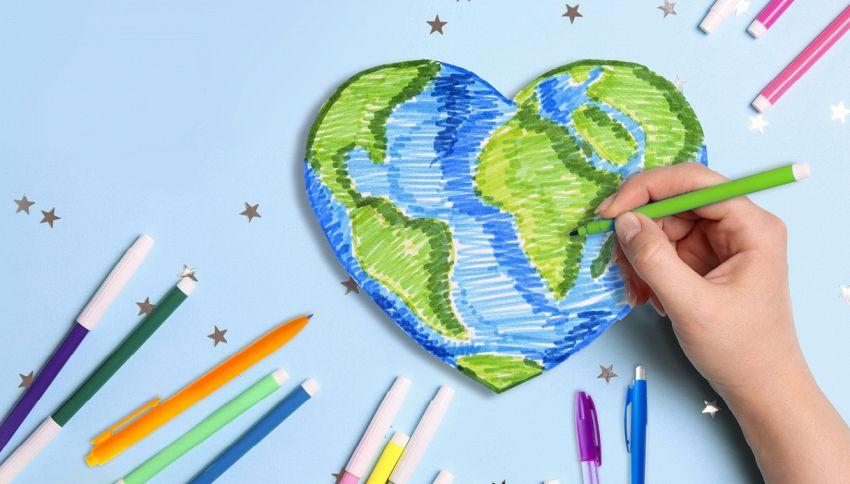 'Ri-scriviamo il futuro', riciclare penne aiuta scuola e ambiente