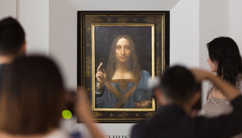 Il dipinto più costoso della storia è di Leonardo da Vinci