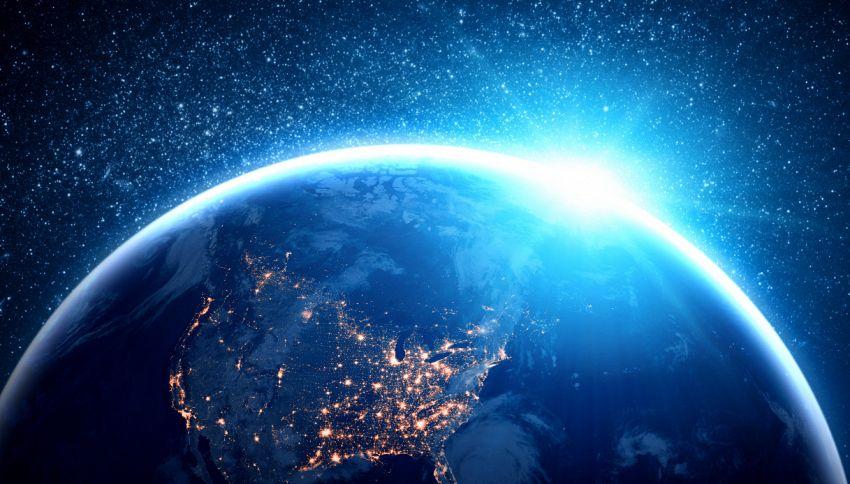 Un lampo di luce blu fotografato dallo spazio: di cosa si tratta