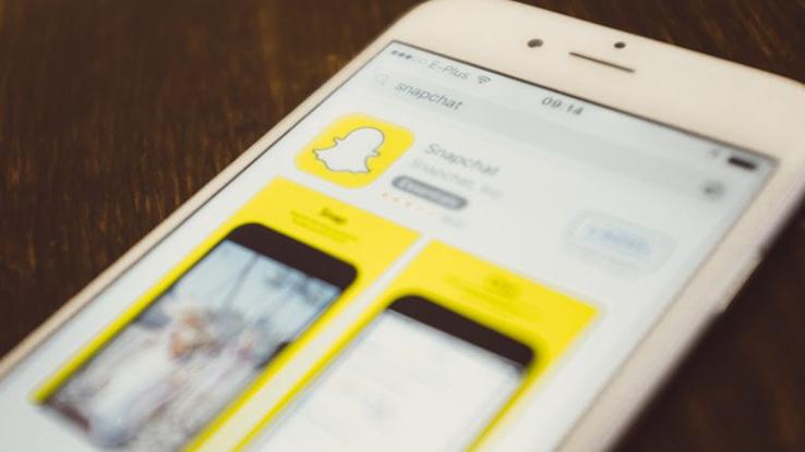 Applicazione di Snapchat