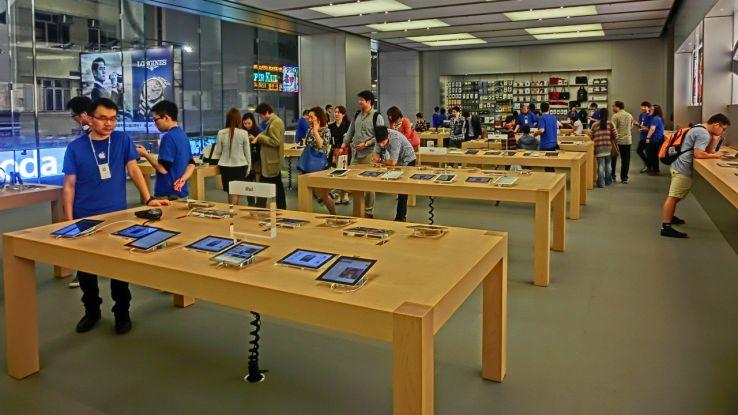 Apple store cambiano le policy sicurezza