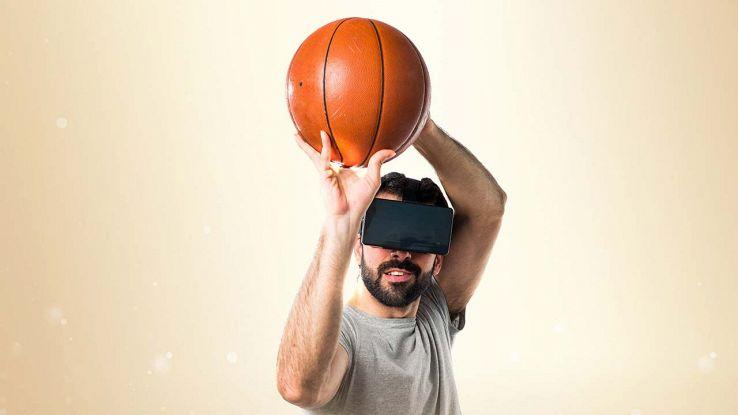 Basket in realtà virtuale