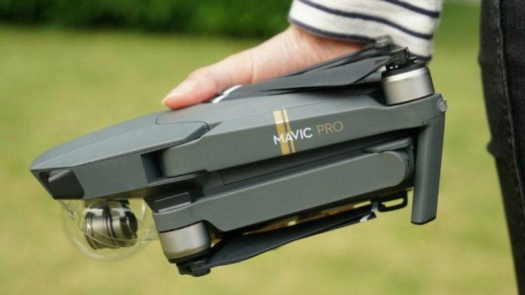 DJI Mavic Pro, il drone richiudibile che vuole sfidare GoPro