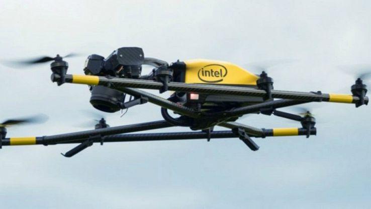 Intel lancia il Falcon 8+, il primo drone pensato per l'industria
