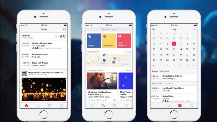 Facebook Eventi, l'app per scoprire cosa accade nelle vicinanze