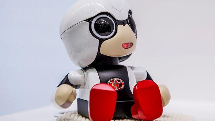 Kirobo Mini, il robot giapponese realizzato per tenere compagnia